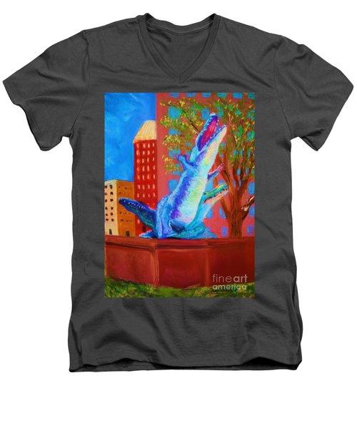 Plaza Men's V-Neck T-Shirt