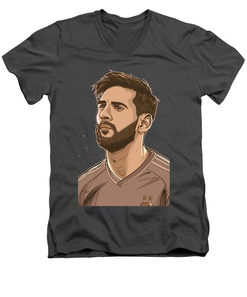 Please Do Not Go Lio Men's V-Neck T-Shirt