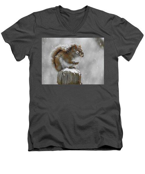Please God Men's V-Neck T-Shirt by Betty-Anne McDonald