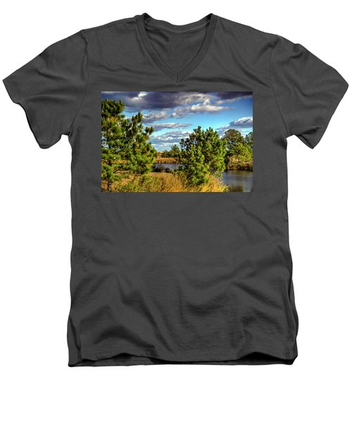 Pleasure House Point Natural Area  Men's V-Neck T-Shirt