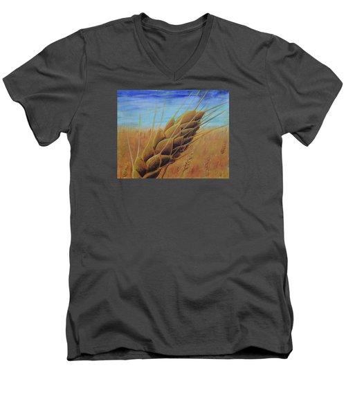 Plentiful Harvest Men's V-Neck T-Shirt