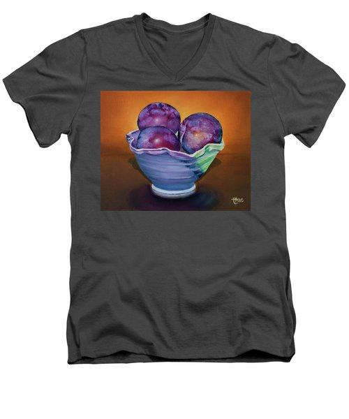 Plum Assignment Men's V-Neck T-Shirt