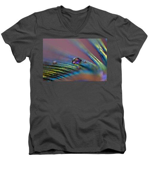 Plum Heart Men's V-Neck T-Shirt