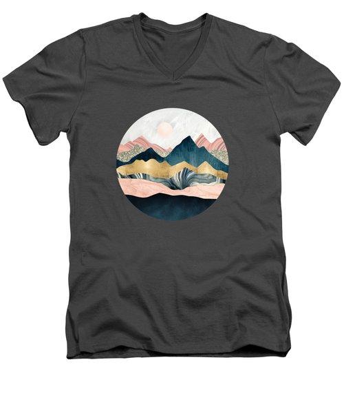 Plush Peaks Men's V-Neck T-Shirt