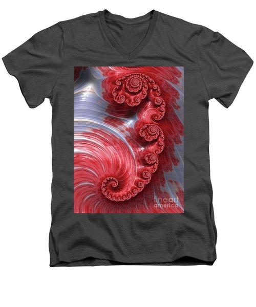 Poached Men's V-Neck T-Shirt