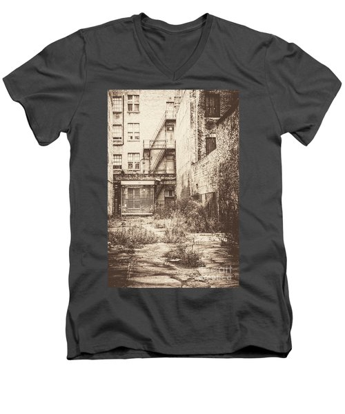 Poetic Deterioration Men's V-Neck T-Shirt