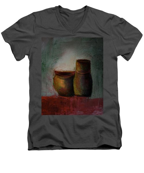 Poetry Of Pottery Men's V-Neck T-Shirt