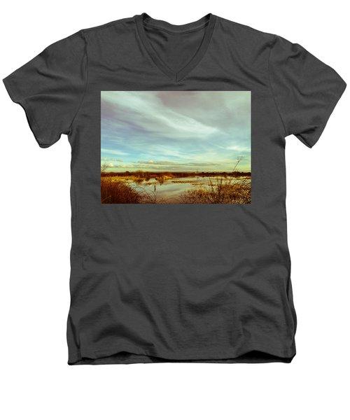 Point No Point Day Men's V-Neck T-Shirt