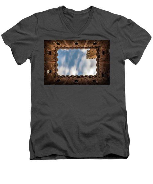 Point Of View Men's V-Neck T-Shirt