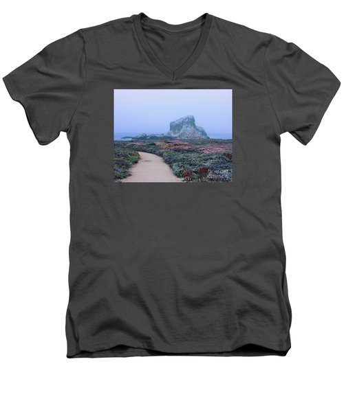 Point Piedras Blancas Men's V-Neck T-Shirt