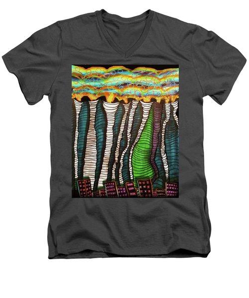 Poisoned Men's V-Neck T-Shirt