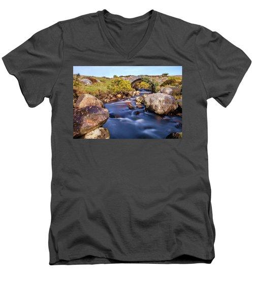 Poisoned Glen Bridge Men's V-Neck T-Shirt