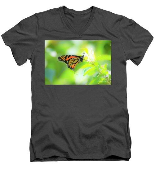 Poka Dots Men's V-Neck T-Shirt