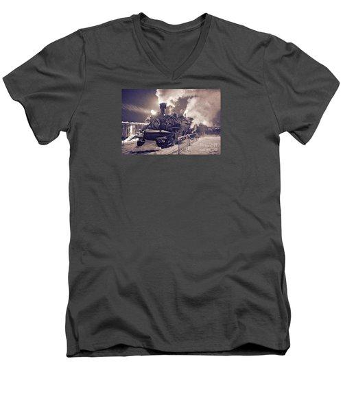 Polar Express. Durango, Colorado #2 Men's V-Neck T-Shirt