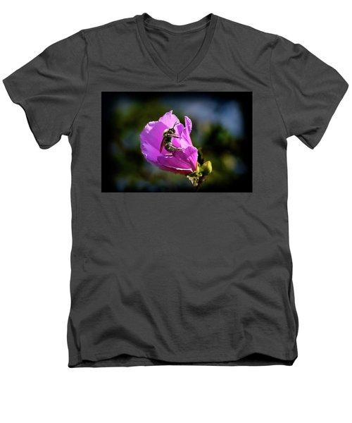 Pollen Clad Men's V-Neck T-Shirt