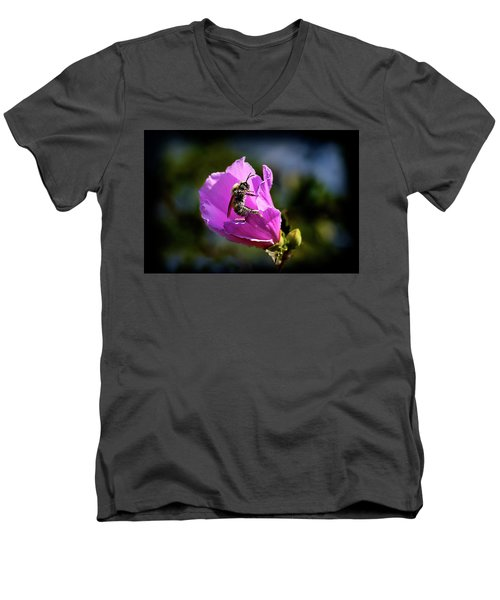 Pollen Clad Men's V-Neck T-Shirt