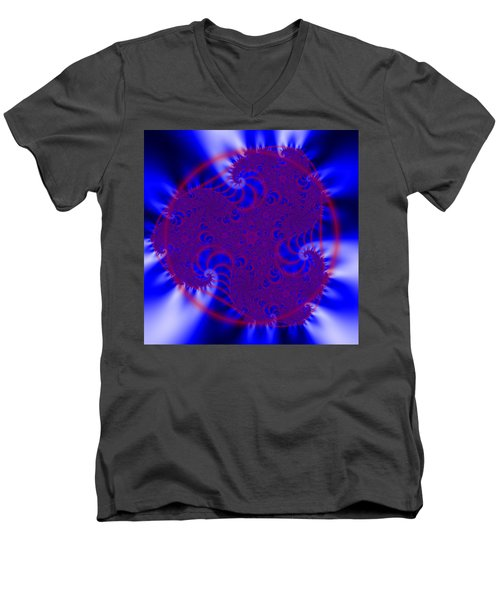 Pollfengra Men's V-Neck T-Shirt