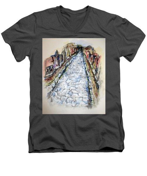 Pompeii Road Men's V-Neck T-Shirt
