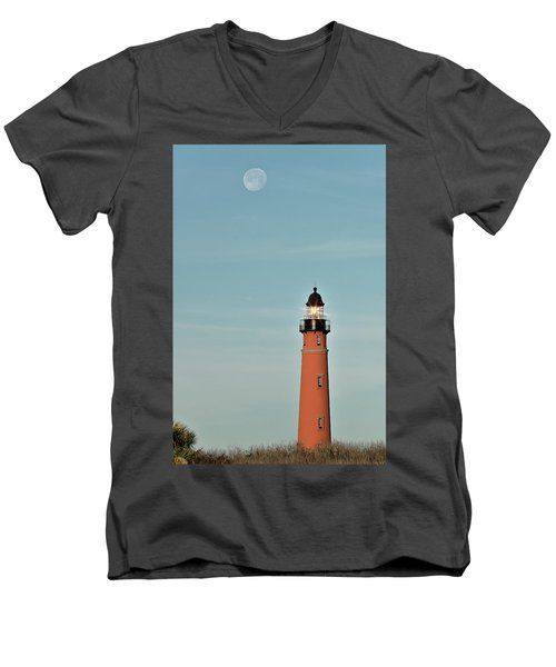 Ponce De Leon Lighthouse Men's V-Neck T-Shirt