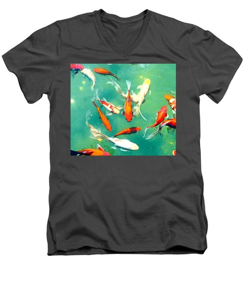 Pond Men's V-Neck T-Shirt