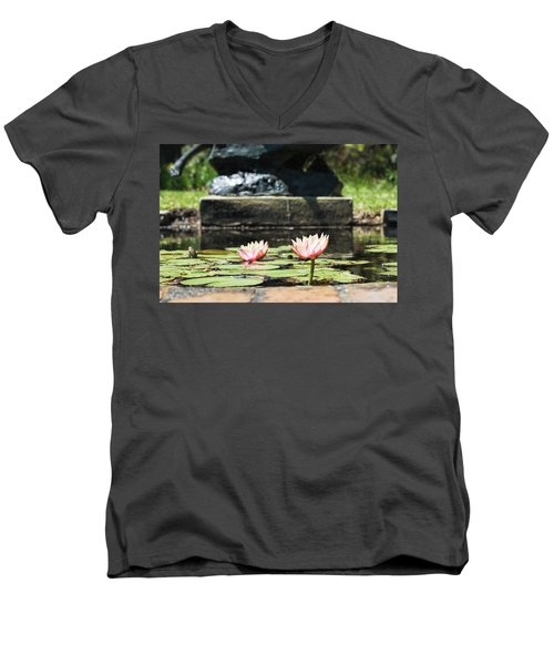 Pond Palette Men's V-Neck T-Shirt