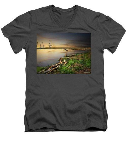 Pond Shore Men's V-Neck T-Shirt
