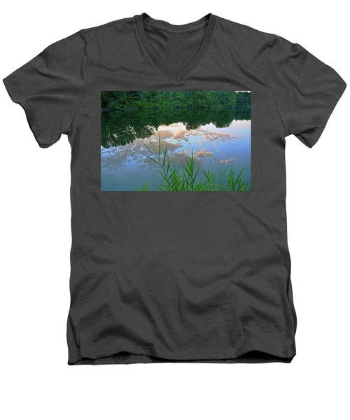 Pondering Men's V-Neck T-Shirt