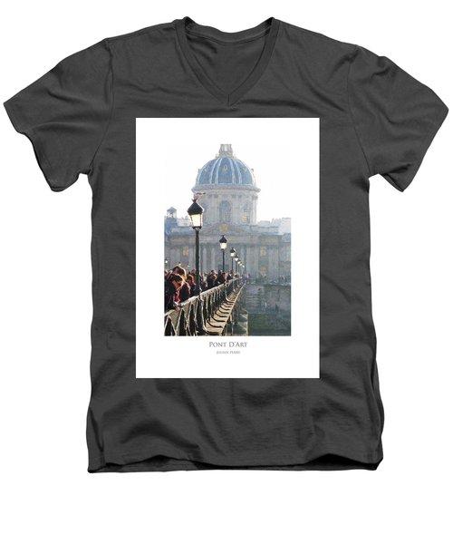 Pont D'art Men's V-Neck T-Shirt