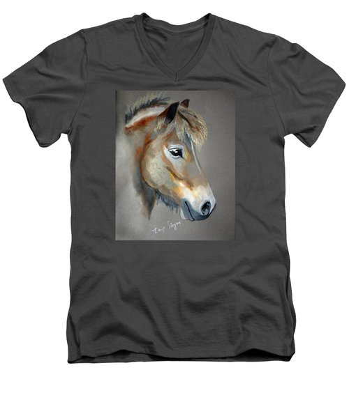 Pony Boy Men's V-Neck T-Shirt