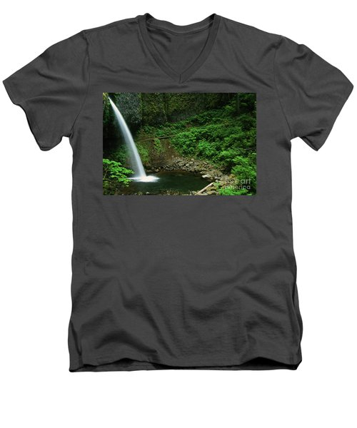 Ponytail Falls-h Men's V-Neck T-Shirt