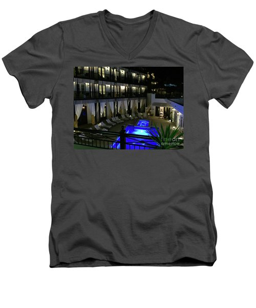Poolside At The Pearl Men's V-Neck T-Shirt