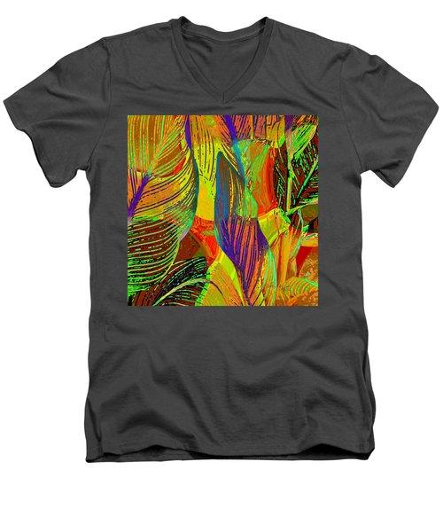 Pop Art Cannas Men's V-Neck T-Shirt