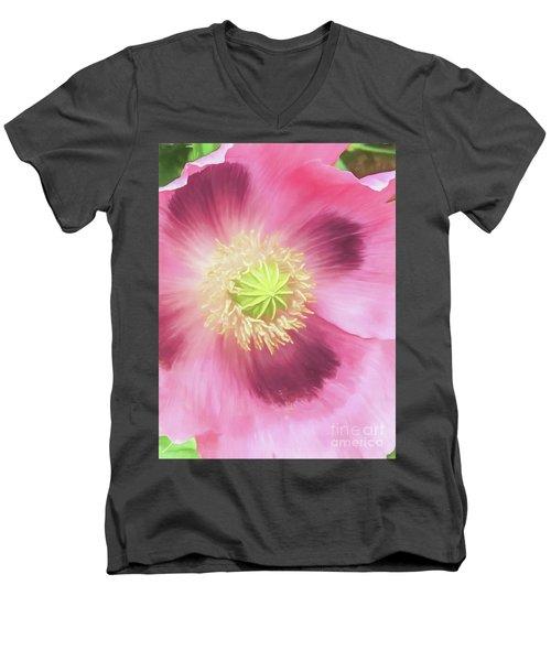 Poppy Perfection Men's V-Neck T-Shirt