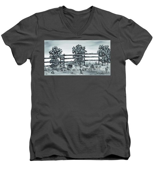 Popular Street Men's V-Neck T-Shirt