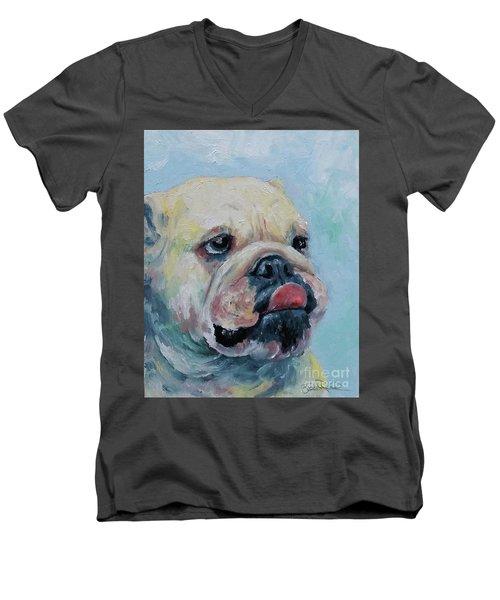 Pork Chop Men's V-Neck T-Shirt