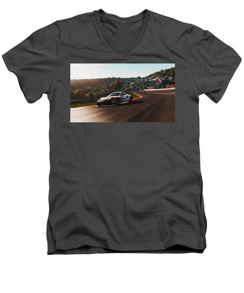 Porsche 911 Rsr, Spa-francorchamps - 33 Men's V-Neck T-Shirt