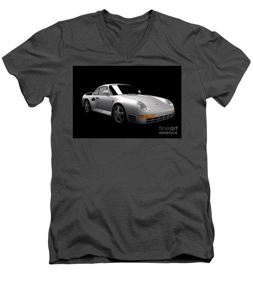 Porsche 959 Men's V-Neck T-Shirt