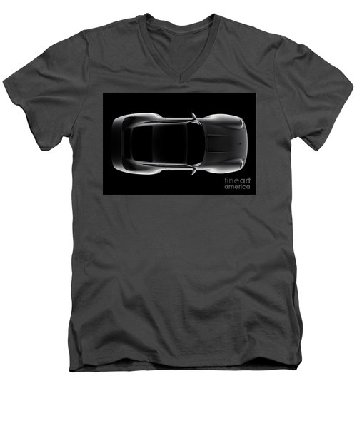 Porsche 959 - Top View Men's V-Neck T-Shirt