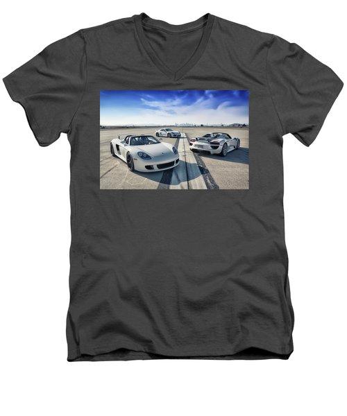 #porsche #carreragt,  #918spyder,  #cayman #gt4 Men's V-Neck T-Shirt