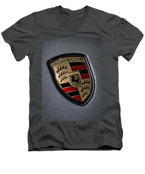 Porsche Men's V-Neck T-Shirt