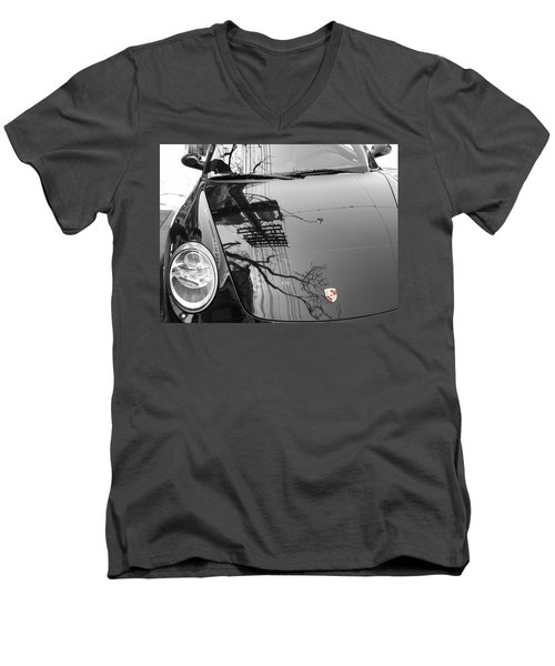 Porsche Reflections Men's V-Neck T-Shirt