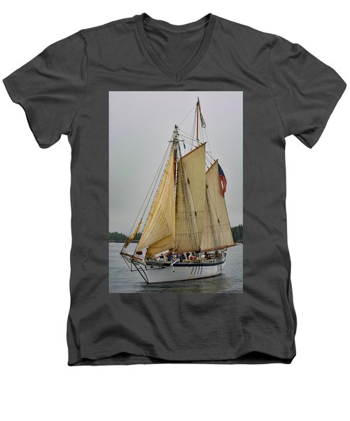 Port Side Men's V-Neck T-Shirt