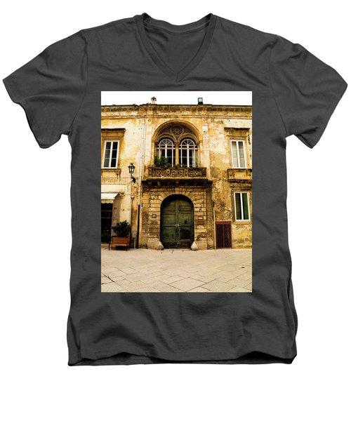 Porta 28 Men's V-Neck T-Shirt