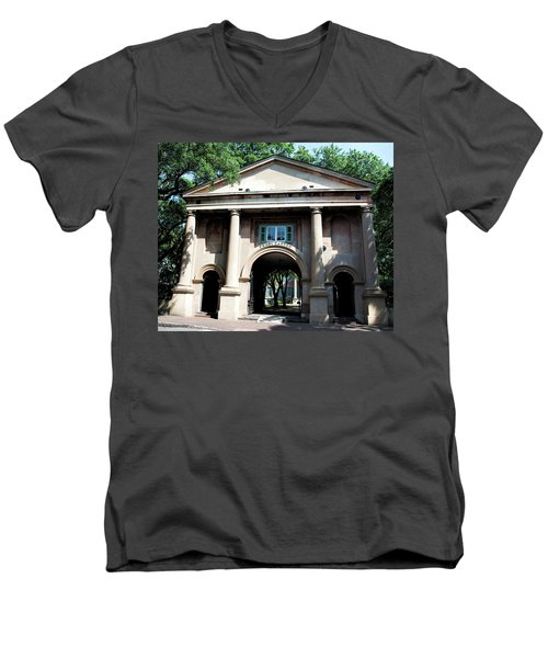 Porter's Lodge Men's V-Neck T-Shirt