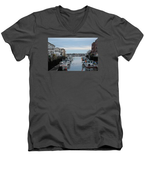 Portland Maine  Men's V-Neck T-Shirt