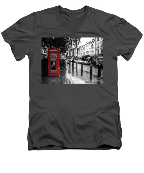 Portobello Road London Men's V-Neck T-Shirt