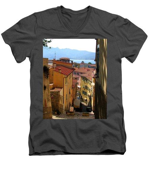 Portoferraio Elba Men's V-Neck T-Shirt