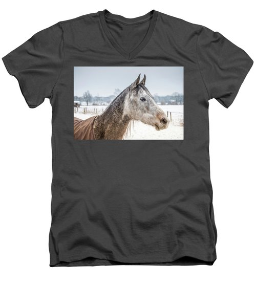 Portrait Amigo Men's V-Neck T-Shirt