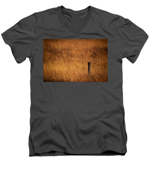 Post Abandoned Men's V-Neck T-Shirt