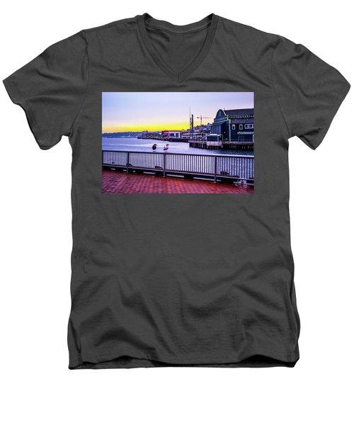 Posted  Men's V-Neck T-Shirt